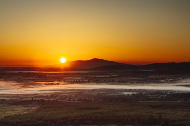 Sunrise over Slievenamon - Niall O'Donovan
